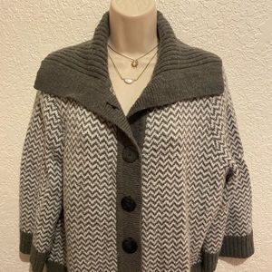 Ladies Button Up Cardigan